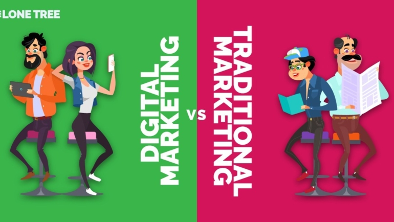 How Digital Marketing offers better ROI than Traditional Marketing?
